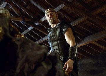 Uno dei protagonisti del film La leggenda di Beowulf