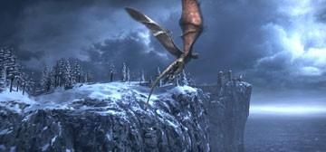 Una bella sequenza del film La leggenda di Beowulf
