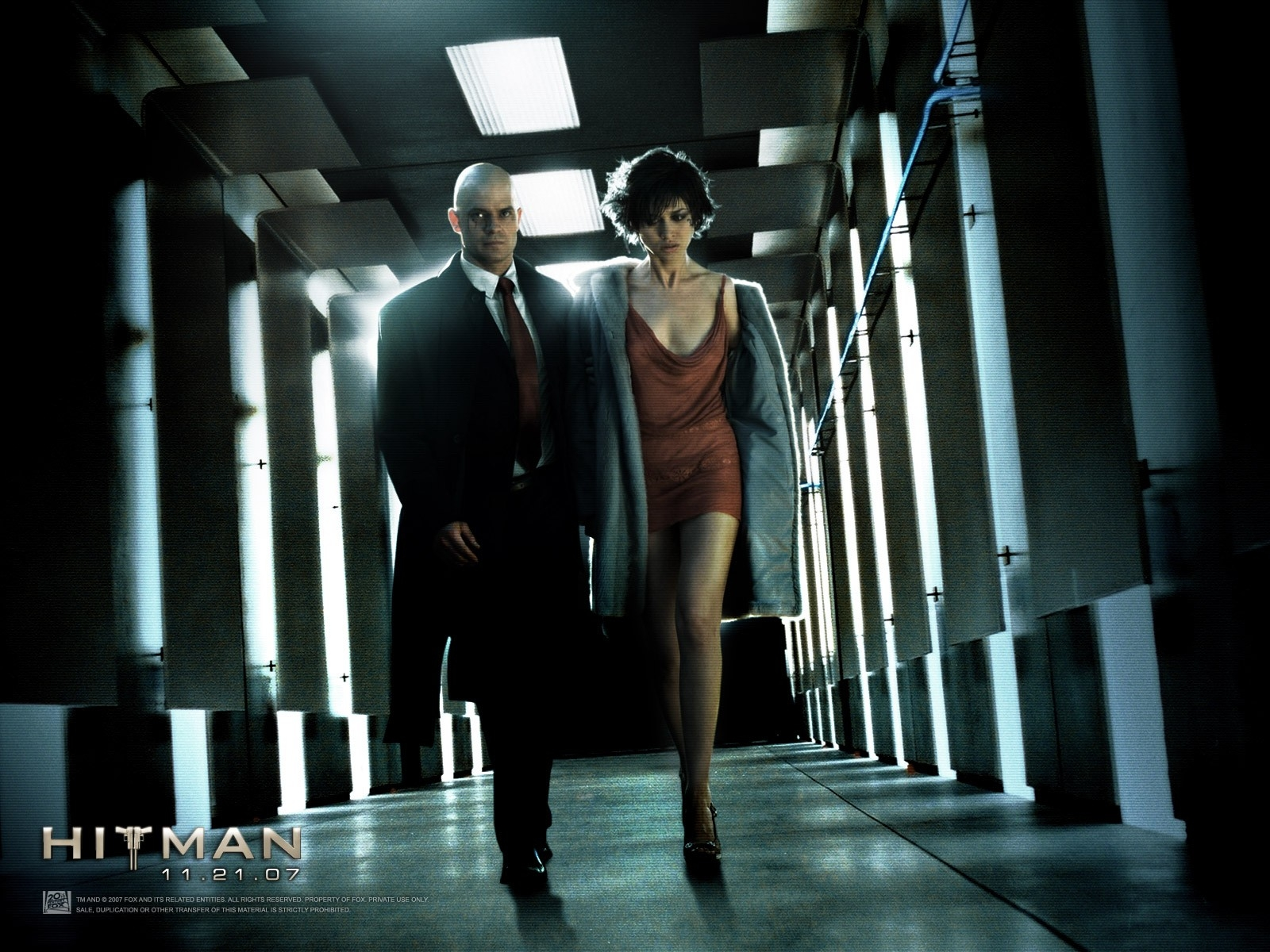 Wallpaper dell'action Hitman - L'assassino