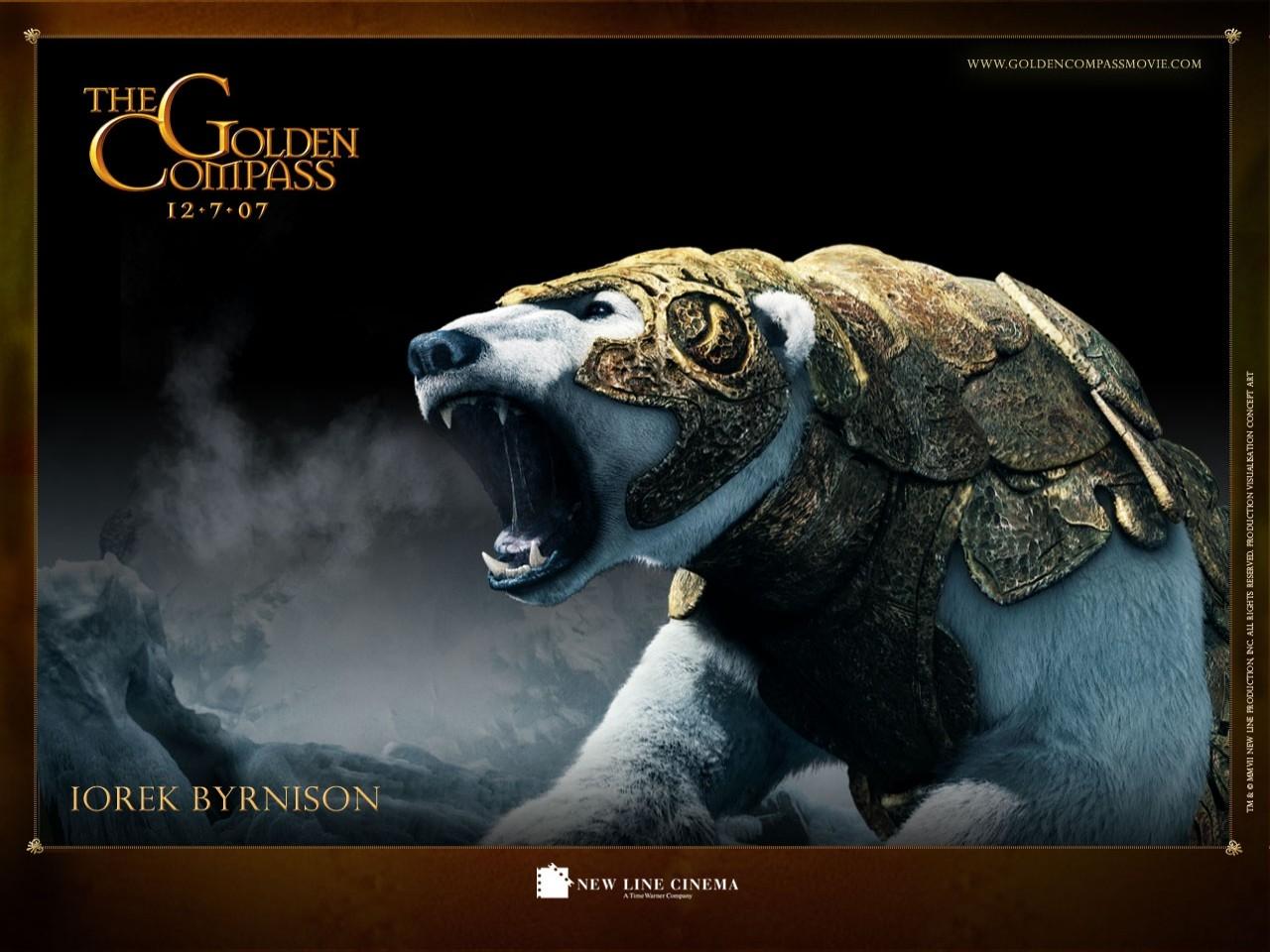 Wallpaper del film La bussola d'oro - L'orso Iorek