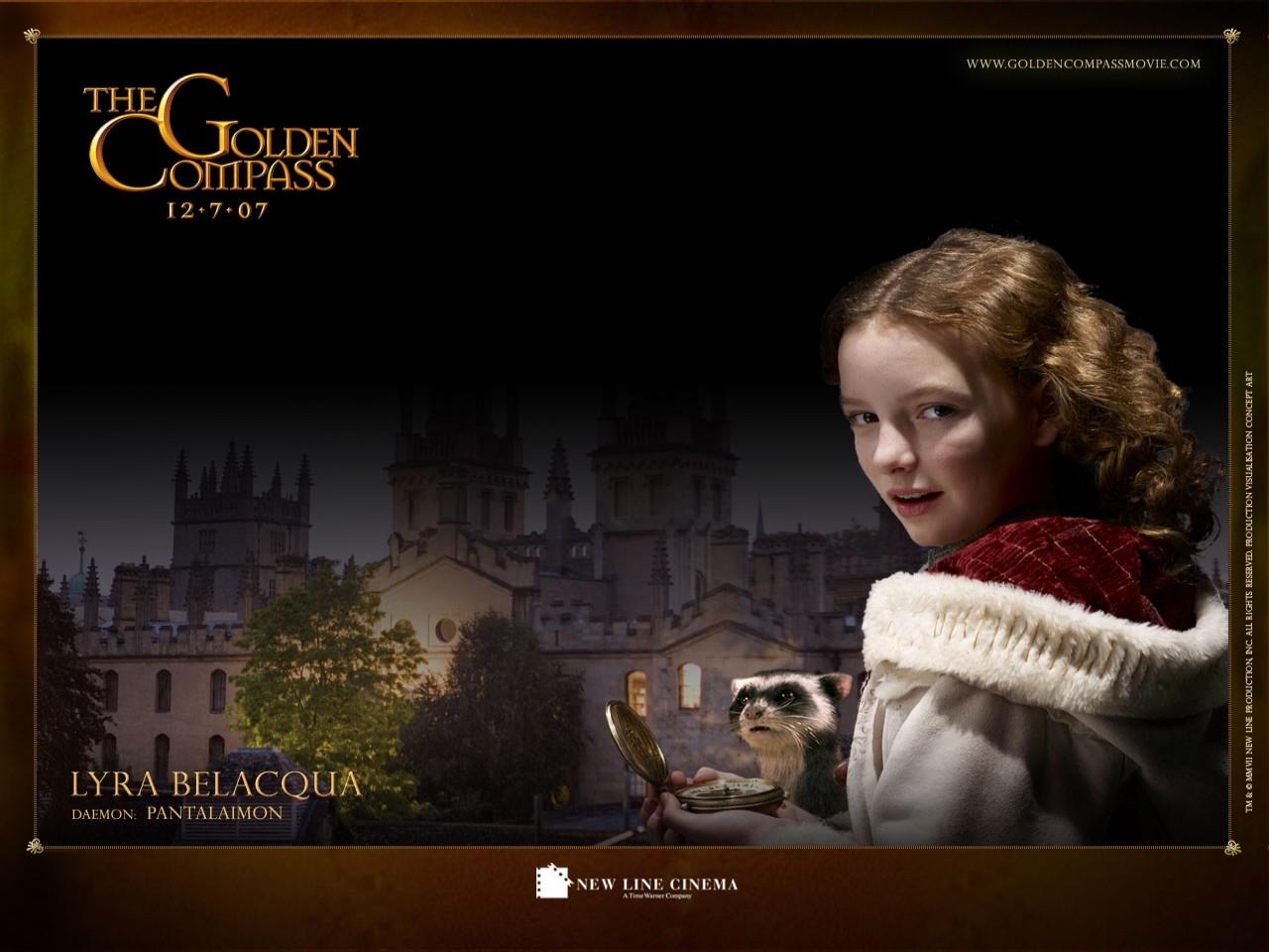 Wallpaper del film La bussola d'oro - Dakota Blue Richards