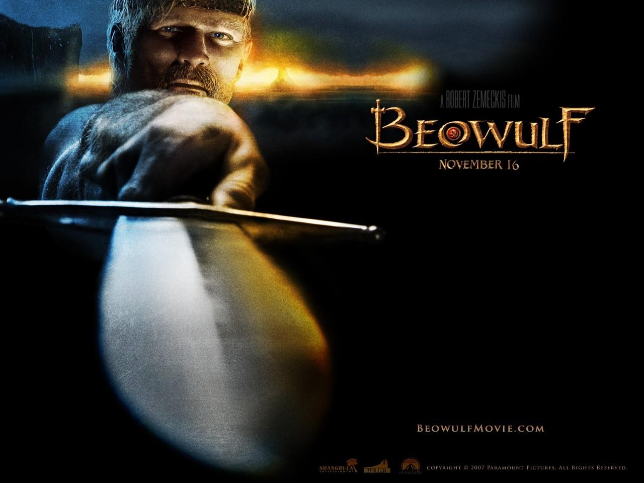 Wallpaper del film fantasy La leggenda di Beowulf