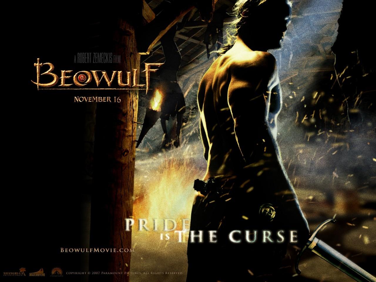 Wallpaper del fantasy La leggenda di Beowulf