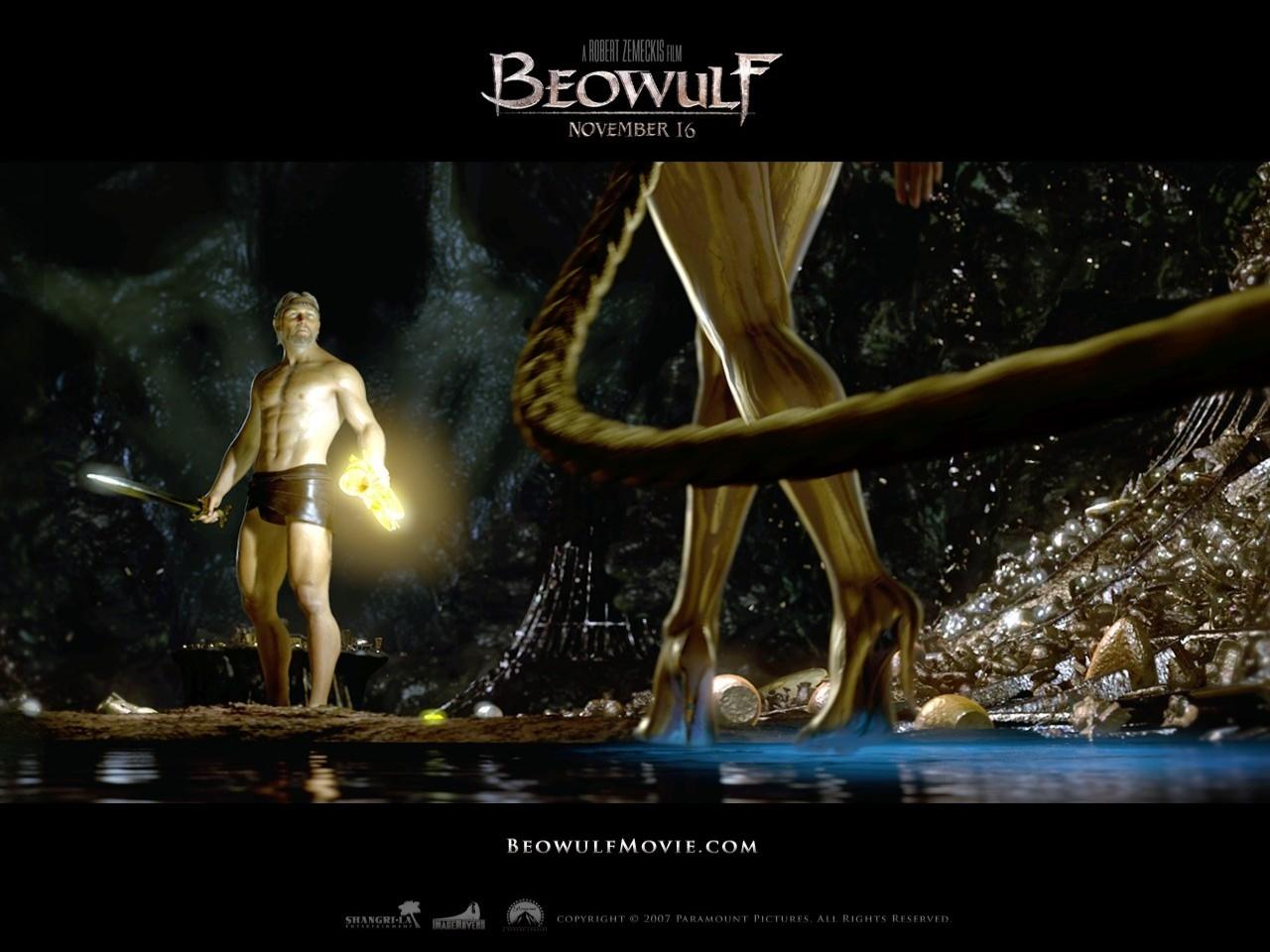 Un sexy wallpaper del fantasy La leggenda di Beowulf