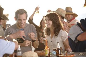Ben Stiller e Michelle Monaghan in una scena del film Lo spaccacuori.