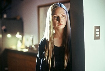 Hope Davis in una scena di The Matador
