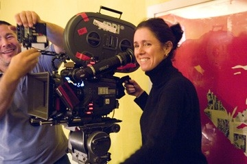 Julie Taymor sul set di Across the Universe