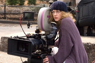 Kirsten Sheridan sul set del film August Rush