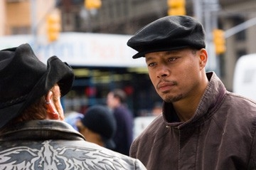 Terrence Howard in una sequenza di La musica nel cuore