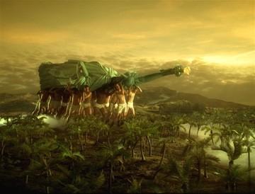 Una scena di Across the Universe, diretto da Julie Taymor