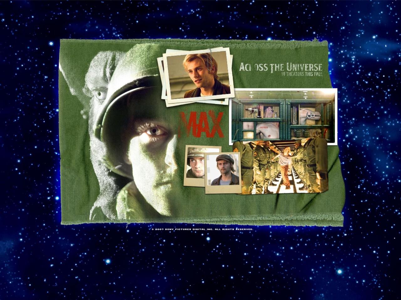 Wallpaper del film Across the Universe con Joe Anderson
