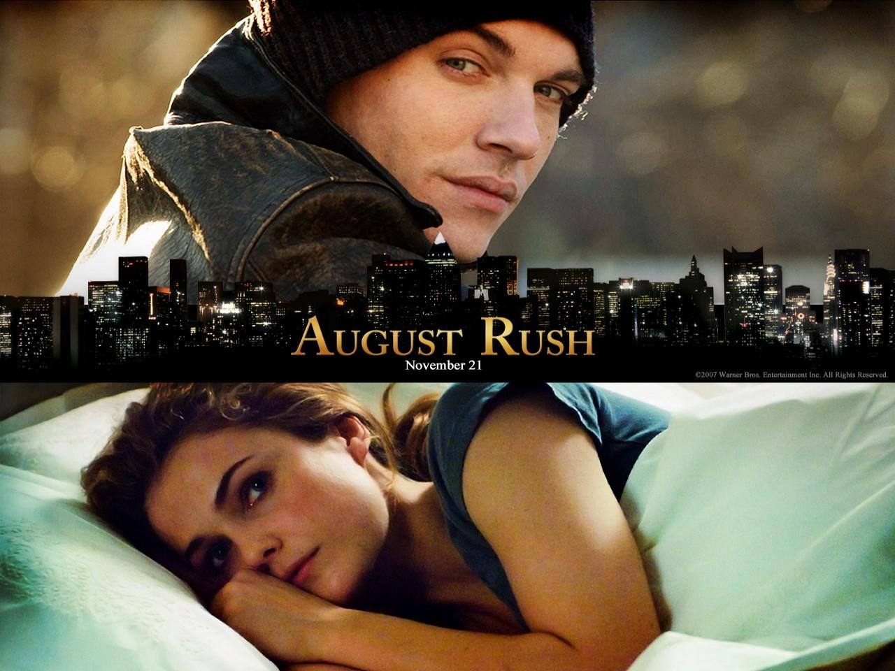 Wallpaper del film La musica nel cuore con Rhys-Meyers e la Russell