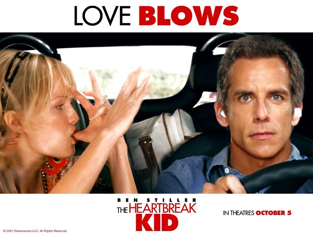 Wallpaper del film Lo spaccacuori con Ben Stiller e Malin Akermann