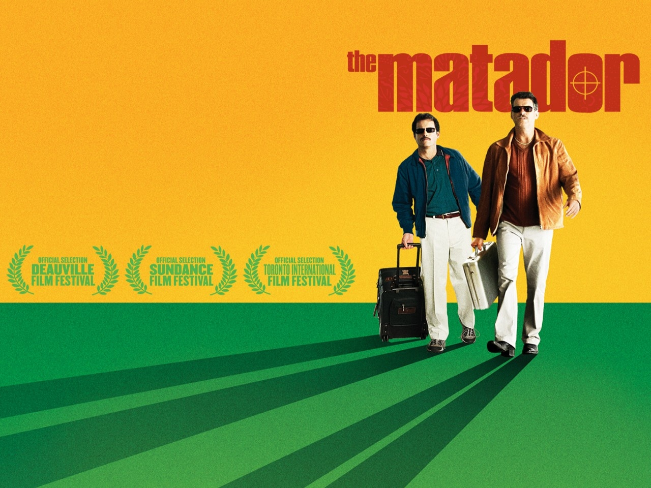 Wallpaper del film The Matador