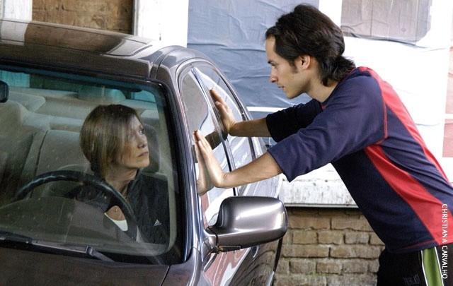 L'attore Gael Garcia Bernal in una scena del film Il passato
