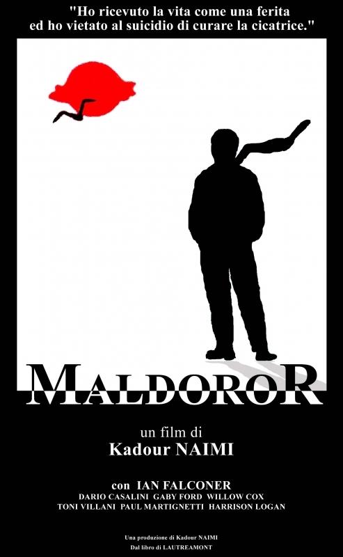La copertina DVD di Maldoror