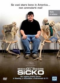 La copertina DVD di Sicko