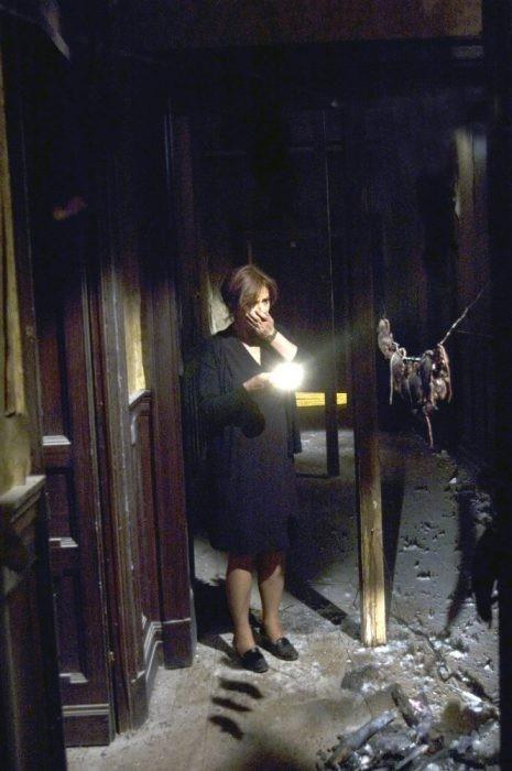 Laura Morante in una sequenza del film Il nascondiglio