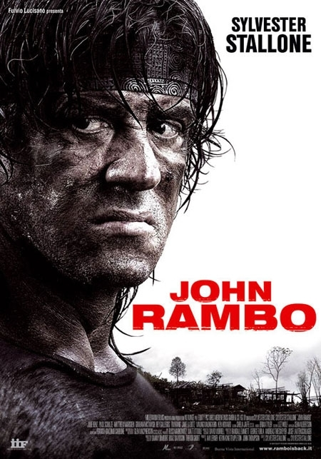 La locandina di John Rambo
