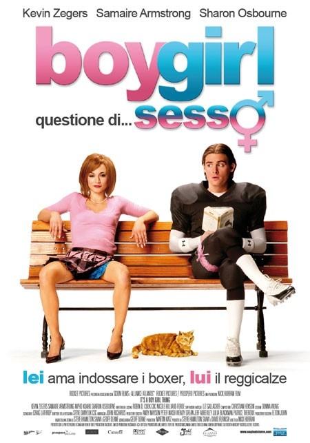 La locandina italiana di Boygirl - Questione di sesso