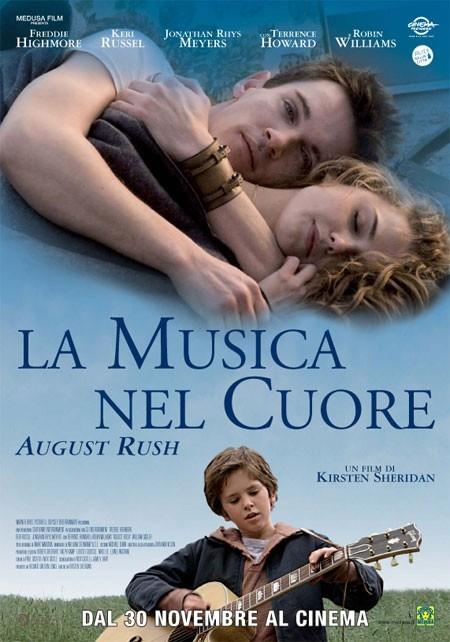 La locandina italiana di La musica nel cuore
