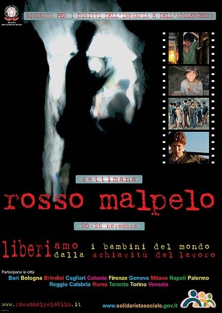 La locandina di Rosso Malpelo