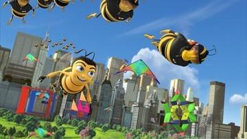 Una scena di Bee Movie