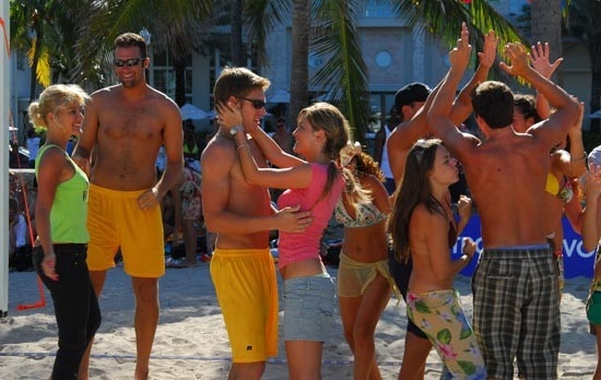 Una scena di Matrimonio alle Bahamas