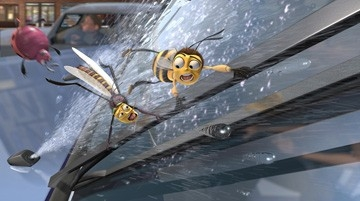 Una sequenza del film Bee Movie