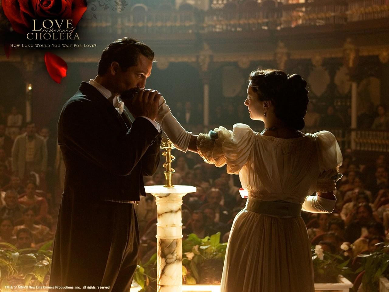 Wallpaper del film L'amore ai tempi del colera