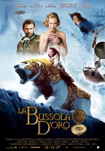 La locandina italiana di La bussola d'oro