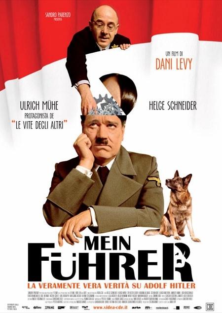 La locandina italiana di Mein Führer - la veramente vera verità su Adolf Hitler