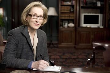 Meryl Streep in una scena di Leoni per agnelli