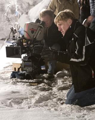 Robert Redford sul set del film Leoni per agnelli