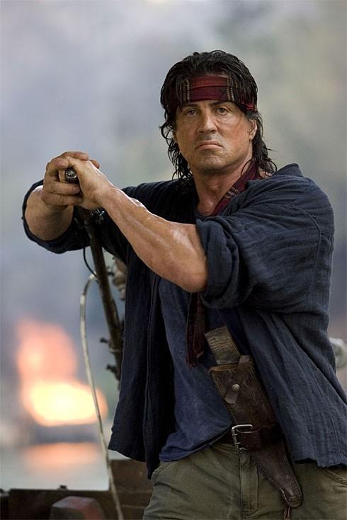 Sylvester Stallone è 'John Rambo' nel quarto capitolo della saga
