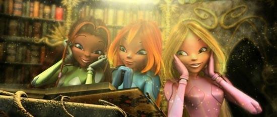 foto del film con le Winx , le piccole fatine de Il segreto del regno perduto
