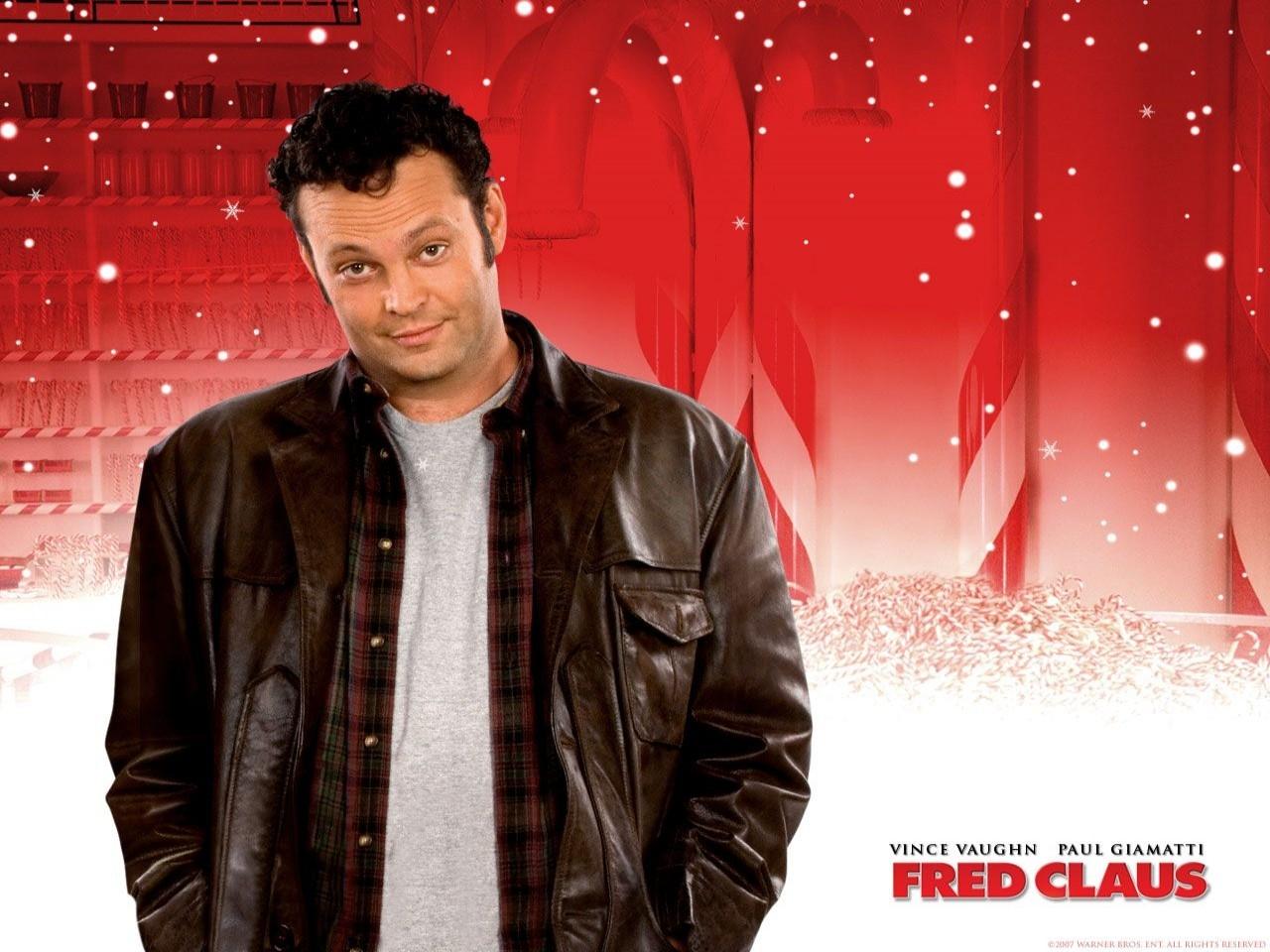 Wallpaper del film Fred Claus - Un fratello sotto l'albero con Vince Vaughn