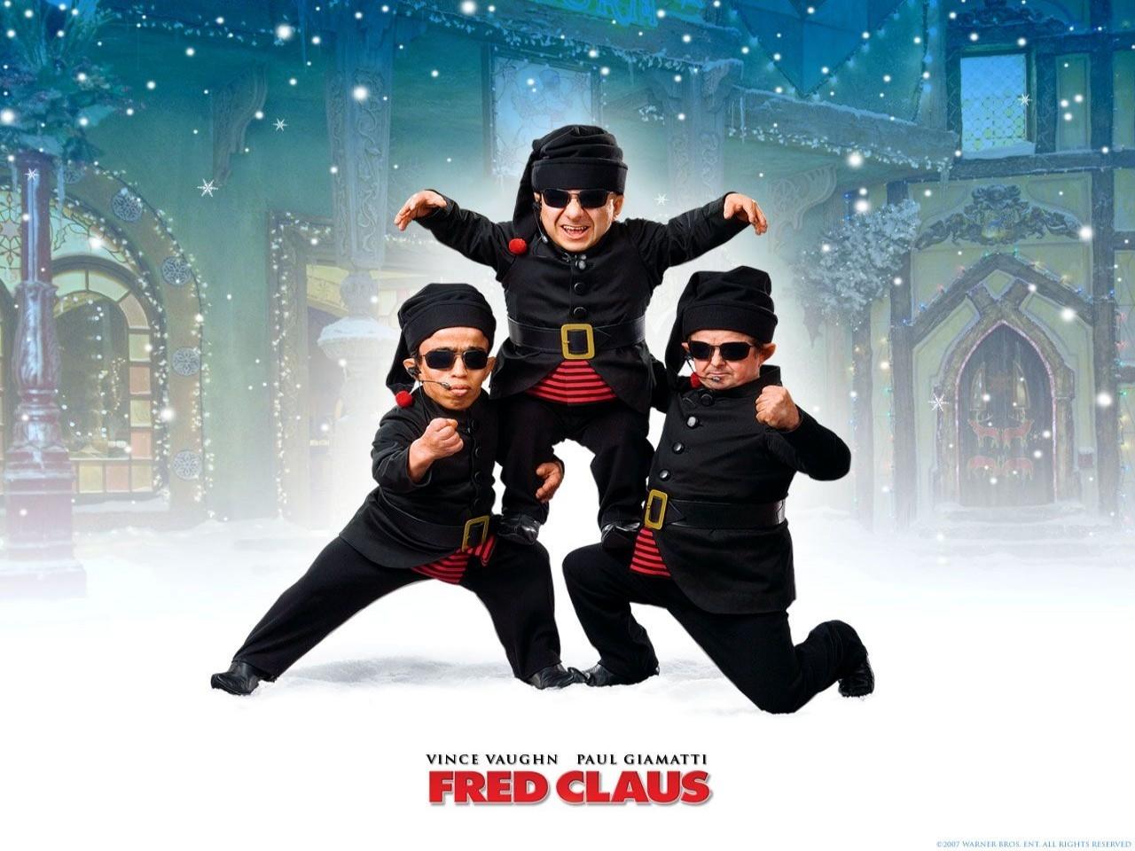 un wallpaper del film Fred Claus - Un fratello sotto l'albero
