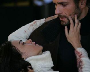 Raoul Bova in una scena drammatica di Milano-Palermo: il ritorno