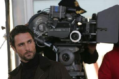 Raoul Bova sul set di Milano-Palermo: il ritorno