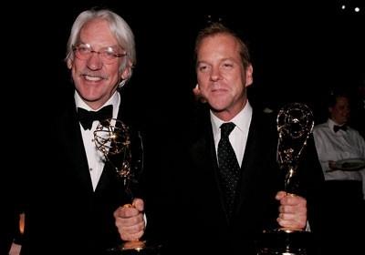 Sutherland padre e figlio con due Emmy di 24