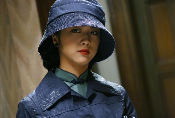 Una seducente Wei Tang in Lust, Caution
