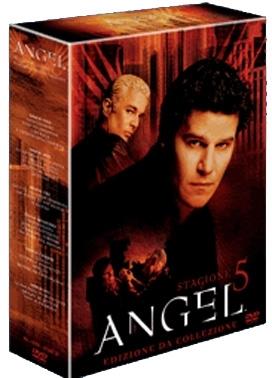 La copertina DVD di Angel - Stagione 5