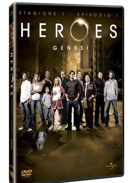 La copertina DVD di Heroes - episodio 1 Genesi