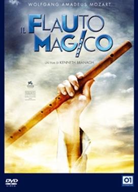 La copertina DVD di Il flauto magico