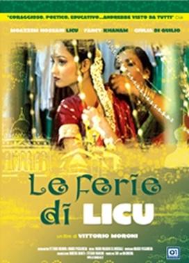 La copertina DVD di Le ferie di Licu