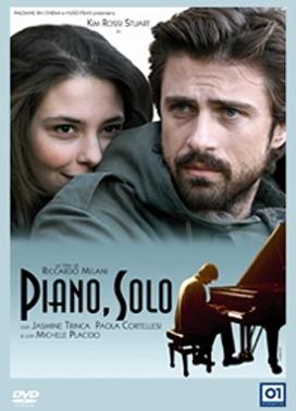 La copertina DVD di Piano, solo