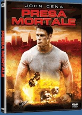 La copertina DVD di Presa mortale