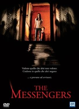 La copertina DVD di The Messengers