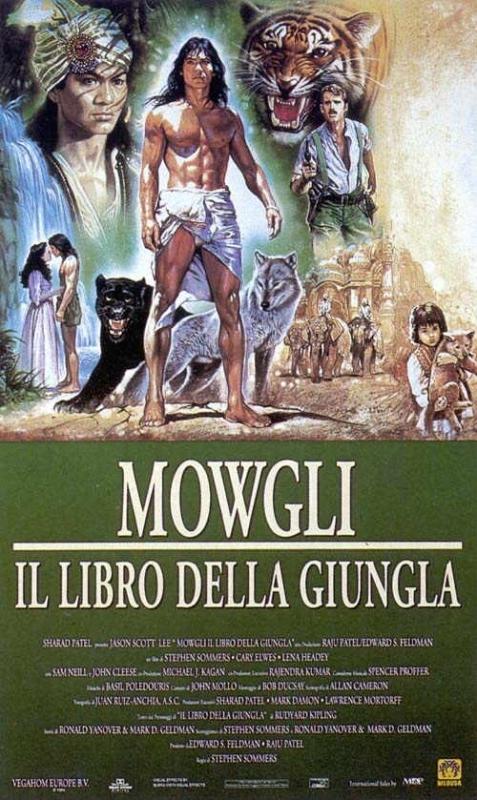 La locandina di Mowgli - Il libro della giungla